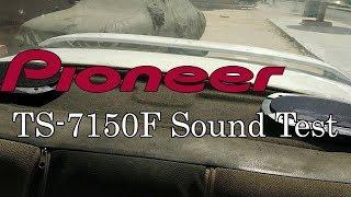 Pioneer 7150F Sound test ( No Amp - Sound level at 50% )