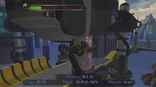 Ratchet & Clank Kalebo Hoverboard Race 1:26.33 IGT - By Scaff