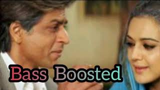 Bass Boosted / Veer Zara / Tere Liye / Hindi songs /( use headphones 🎧)