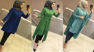latest stylish shirts with hijab  new lookbook 2019