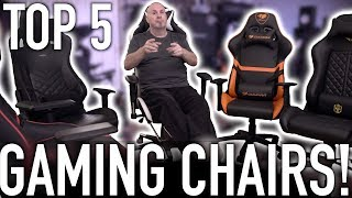 5 Gaming Chairs Worth Your Consideration - Aug 2018