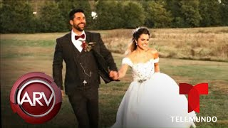 Famosos ARV: Matías Novoa e Isabella se juran amor eterno en boda religiosa y más | Telemundo