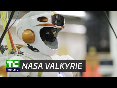 In a Massachusetts warehouse, NASA's Valkyrie robot helps lay the groundwork for Mars settlements