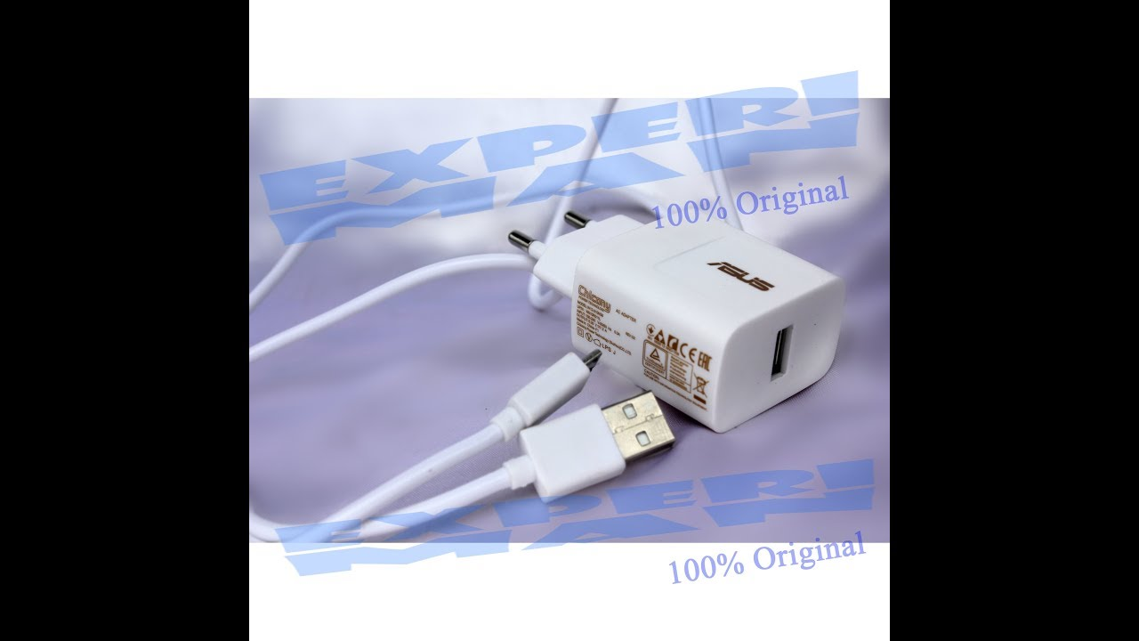 Asus Travel Charger Adapter Original for Asus Zenfone All Series Unbox By  Toko Experi Man