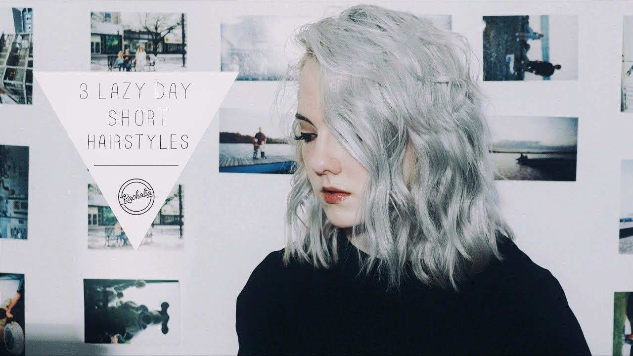 Minute Hairstyles For Short Hair Tumblr Inspired YouTube - Hairstyles for short hair on tumblr