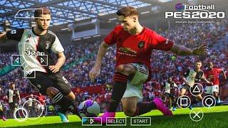 تنزيل PES 2020 PPSSPP English Version Camera PS4 Android باخر الانتقالات والاطقم من ميديا فاير