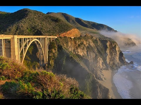 BIG SUR CALIFORNIA Amazing 4k  Drone Aerial  Video Footage