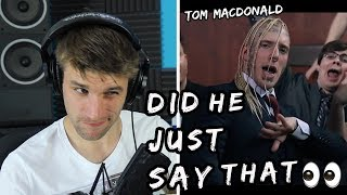 White Rapper Reacts to Tom MacDonald Straight White Male!! | FIRST EVER LISTEN (MUSIC VIDEO)