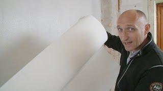 Filt på væggene. Lær om opsætning af glasfilt på væg. Se hvordan her