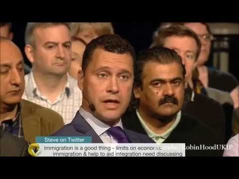 UKIP Steven Woolfe owns the immigration debate