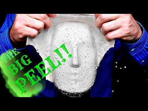 ASMR EXTREME Head Peeling, Textured Brushing, Sponges & Foam. 100% Guaranteed NOT all will Tingle