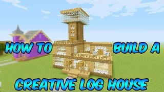 Minecraft Xbox One: How to Build a Creative Wood House