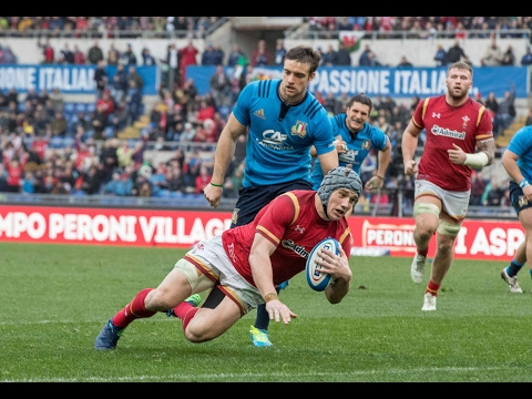 Official Extended Highlights: Italy 7-33  Wales | RBS 6 Nations