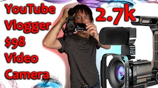Best New Vlogging Camera From Amazon On A Budget 2.7k In 2020 $98