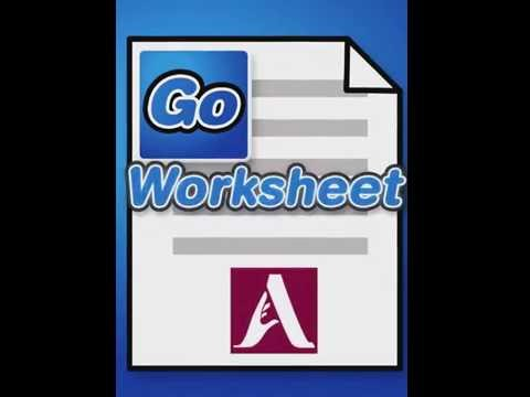 GoWorksheet: Broadcasting