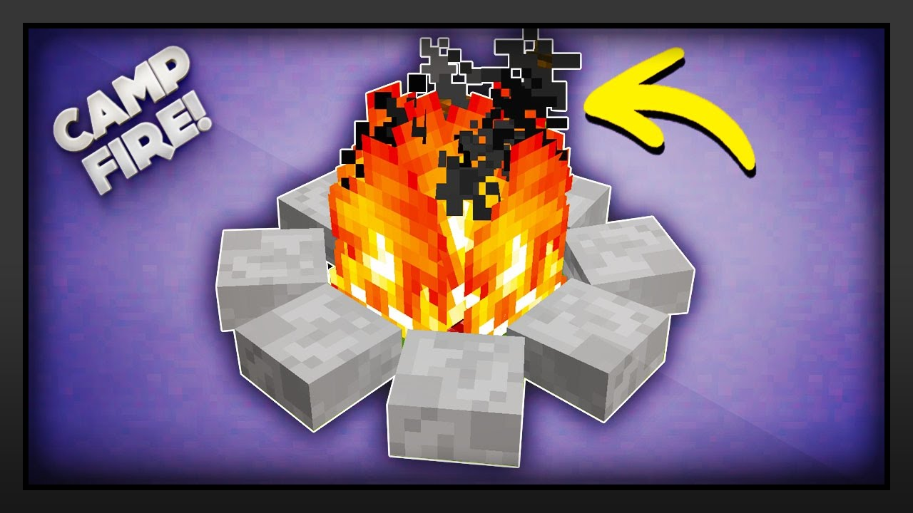 How to make a campfire in minecraft bigger