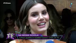 Camila Queiroz diz que planeja lua de mel com Klebber Toledo em agosto