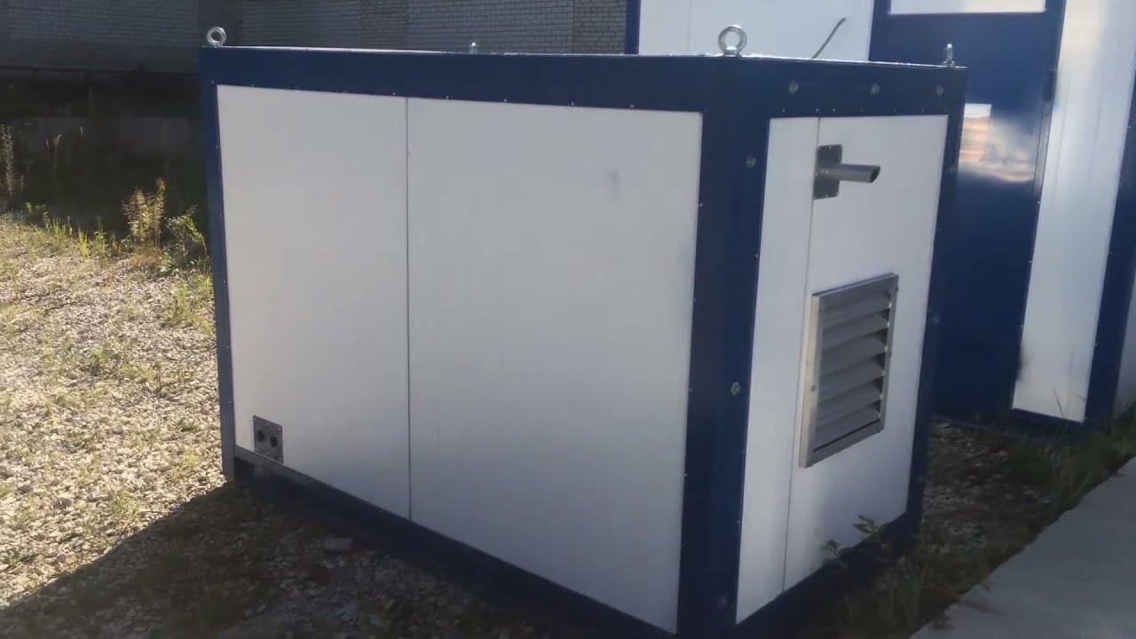 Дизельная электростанция (дизель генератор) AKSA APD 90 A (68 кВт .