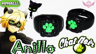 Video ♥ Tutorial: Anillo Chat Noir o Black Cat [ Miraculous Ladybug ]♥ download MP3, 3GP, MP4, WEBM, AVI, FLV April 2018