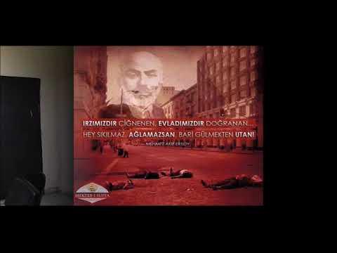 Mehmet Akif Ersoy'u Klip Yaparak Andılar