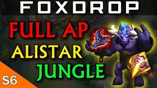FULL AP Alistar Jungle - League of Legends