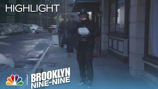 Brooklyn Nine-Nine - Marshawn Lynch Watches a Van Carrying Fugitives Crash (Episode Highlight)