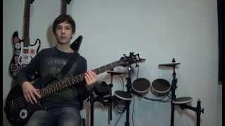 Как играть на бас гитаре 1 урок #13