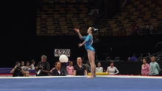 Sophia Butler – Floor Exercise – 2018 U.S. Gymnastics Championships – Junior Women Day 2