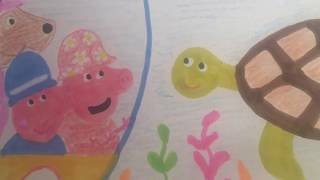 #Peppa #Drawing And #Coloring For #babies #toddlers #kids