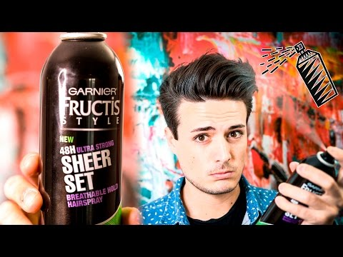 Mens Hairstyling | How To Use Hairspray: Is it For You?