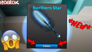 *NEW* NORTHERN STAR CRAFTING! *DREAM TIERED KNIFE* (ROBLOX ASSASSIN NEW DREAM KNIFE UNBOXING)