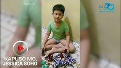 Kapuso Mo, Jessica Soho: Bata, ipinagbebenta ang 50 medalya para makakain ang pamilya
