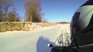 Покатушки на снегоходе Yamaha RS Venture TF