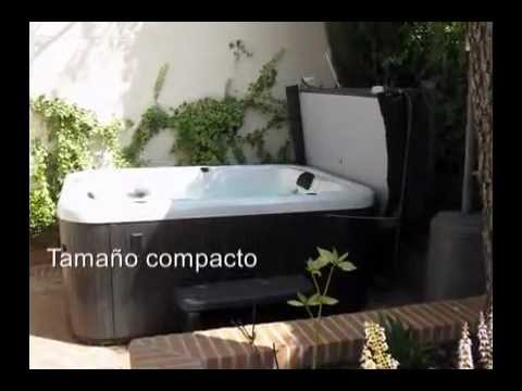 el mejor spa de exterior para 2 o 3 personas youtube. Black Bedroom Furniture Sets. Home Design Ideas