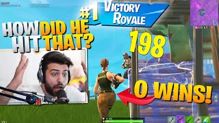 I died and watched a noob get his FIRST WIN! (crazy) - Fortnite Battle Royale
