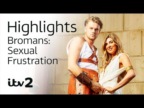 Sexual Frustration in Ancient Rome | Bromans | ITV2