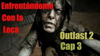 En enfrentándome con la loca Outlast 2 GamePlay
