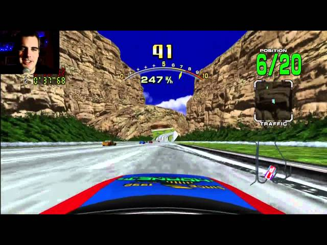 Daytona USA First Look
