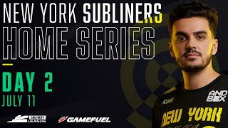 Qualifier A | Atlanta FaZe vs Toronto Ultra | New York Subliners Home Series | Day 2