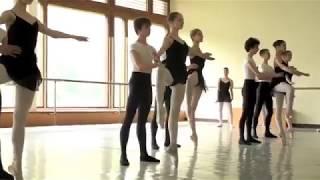 Pas de deux class 6th year in Bolshoi Academy