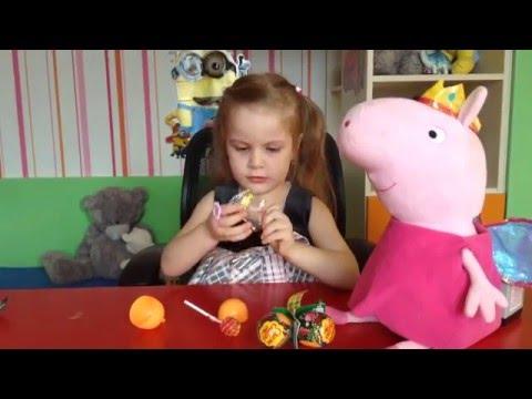 Видео: Чупа Чупс Ужастики прилипучки киндеры с чупа-чупсом внутри детское видео