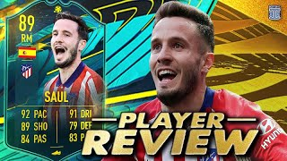 BETTER THAN LLORENTE?! 🤔 89 MOMENTS SAUL PLAYER REVIEW! - FIFA 21 ULTIMATE TEAM