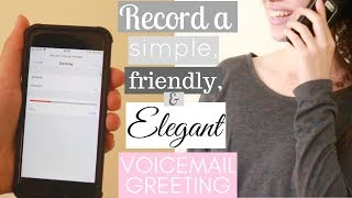 Ladylike Charm: Your Elegant Voicemail Greeting - Chatting With Charm Series