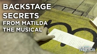 Backstage Secrets #6 | Paper Planes | Matilda The Musical
