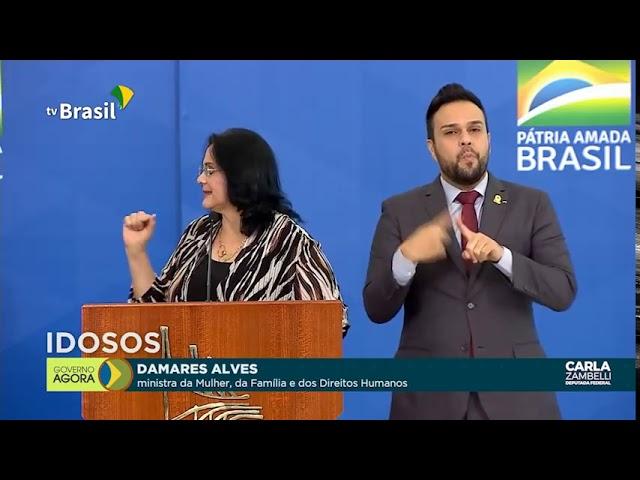 Ministra Damares leva o Brasil às lágrimas!
