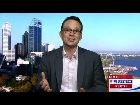 David Sharpe   9 News Perth