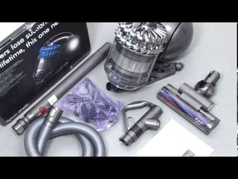 Dyson Cinetic DC52, DC54, DC78 with Turbine head floor tool - Getting started