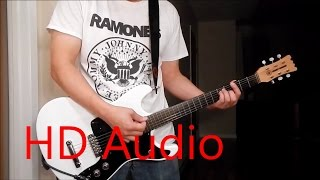 Ramones – Let's Dance (Guitar Cover), Barre Chords, Downstroking, Johnny Ramone
