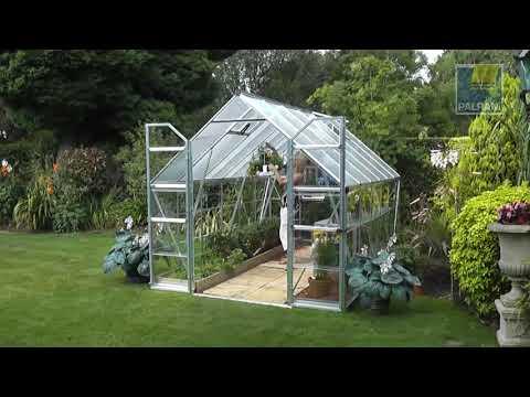 Palram Greenhouse Balance 8x12 Premium Pack Youtube