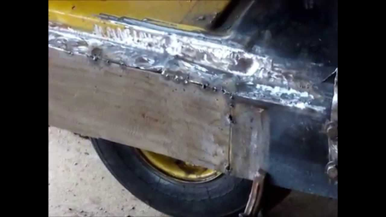Inner Rocker Panel 1972 Chevy Truck Youtube